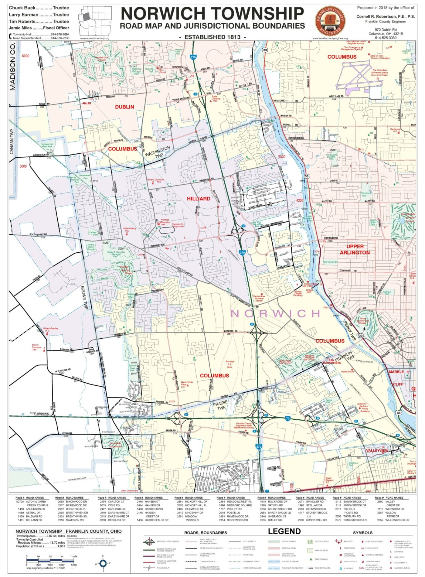 Township Maps – Franklin County Engineer\'s Office