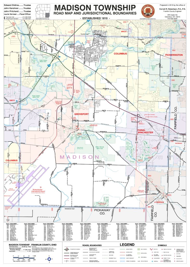 Township Maps - Franklin County Engineer's Office