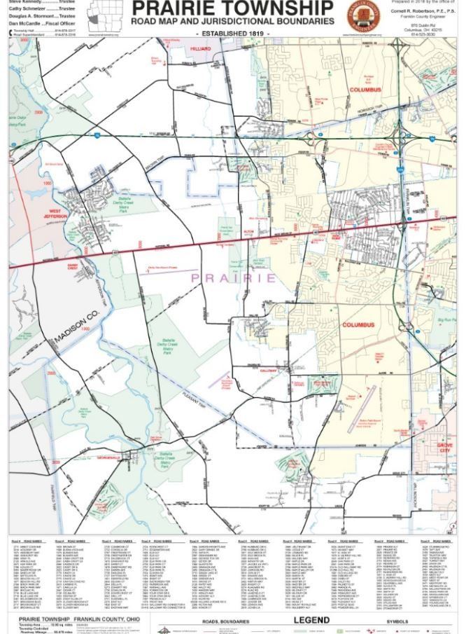 Township Maps Franklin County Engineer S Office